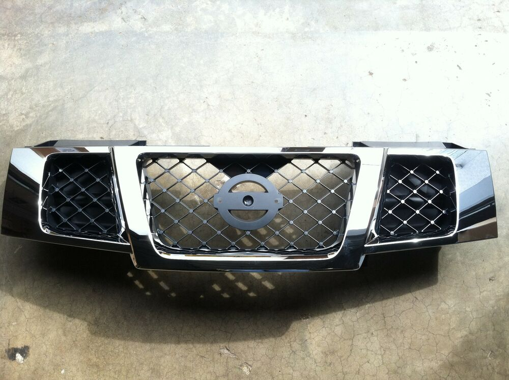2007 2012 Nissan Armada Chrome Grille Assembly Brand New