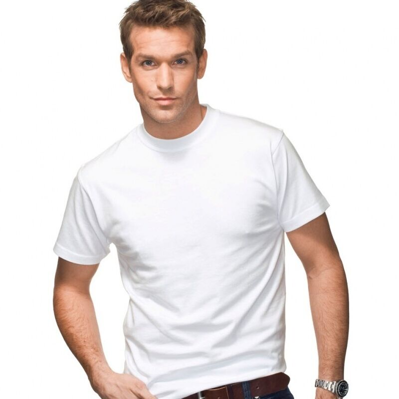 3 pack hanes beefy t shirts white 5180 s xl 6 1 oz cotton for Hanes 5180 beefy t t shirt