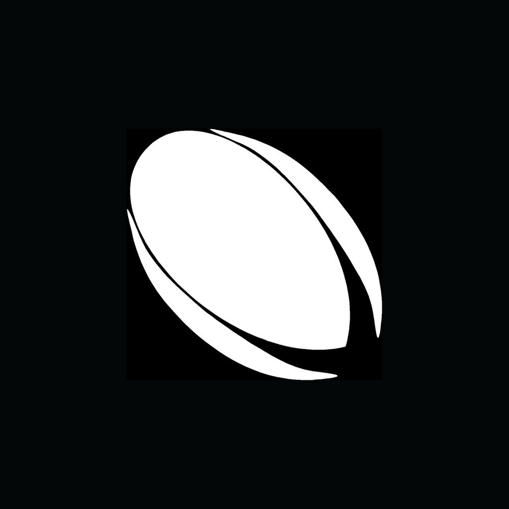 Image result for rugby ball silhouette