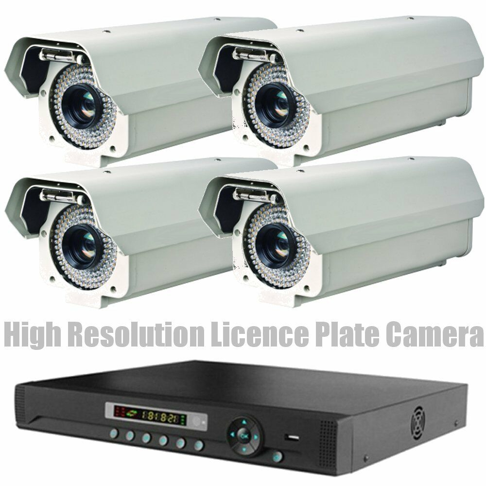 High Resolution Video Licence Plate Reading Security