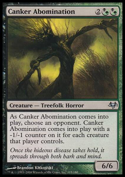 ABOMINIO CANCEROSO - CANKER ABOMINATION Magic EVE Mint