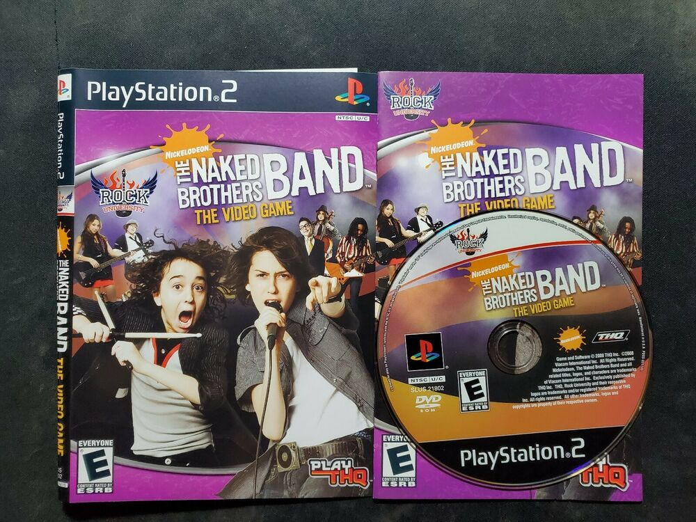 Jogo The Naked Brothers Band: The Videogame (Bundle) - PS2