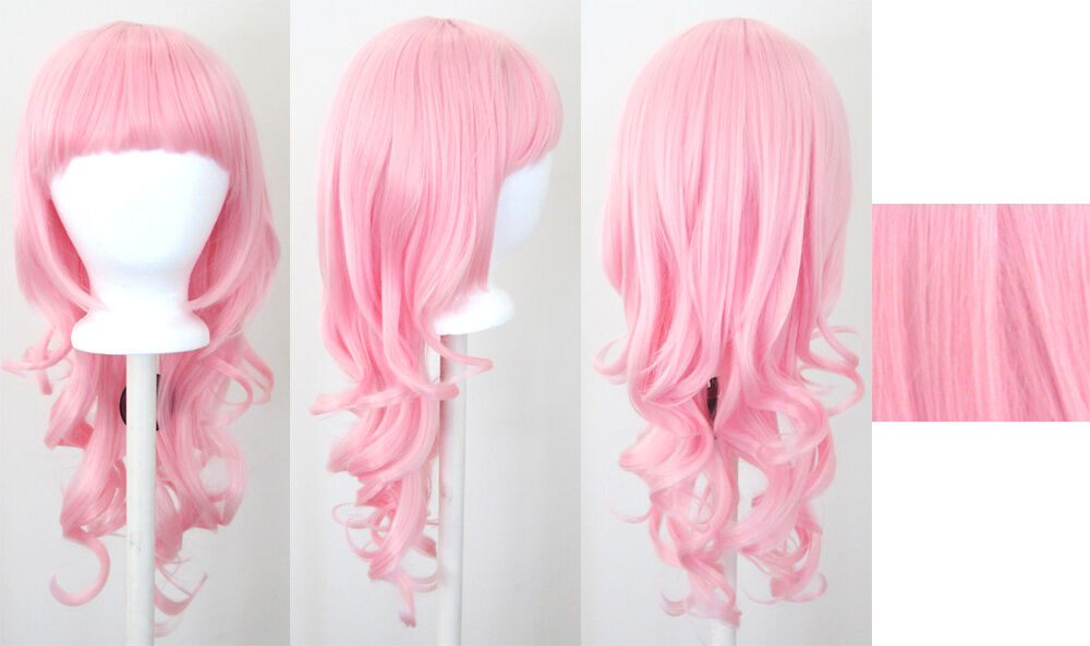 Cotton Candy Pink Wigs 112