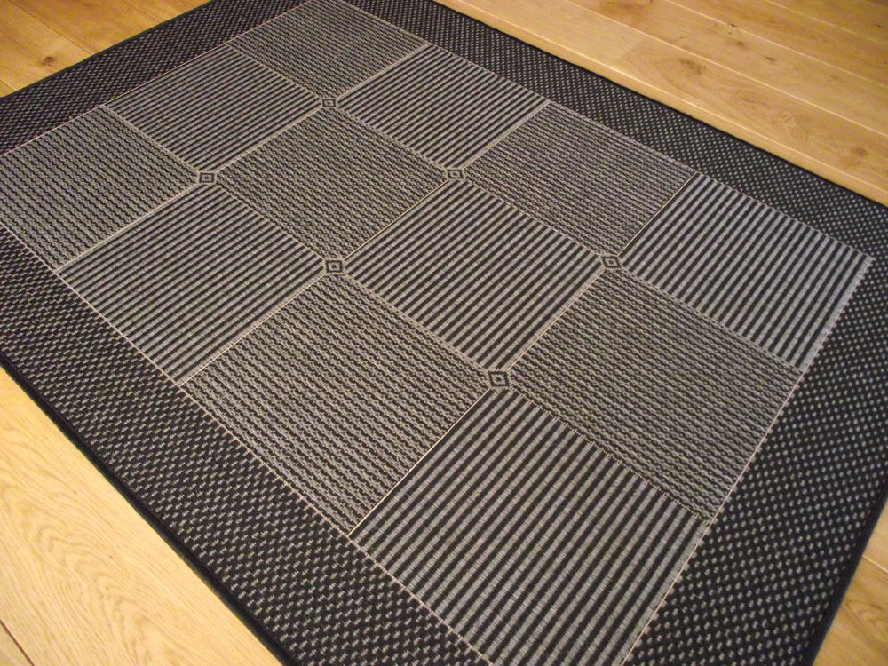 New small large black non slip anti back kitchen mats rugs for Large kitchen area rugs