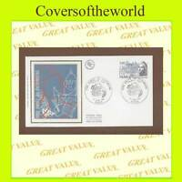 France 1980 Heritage Year silk First Day Cover