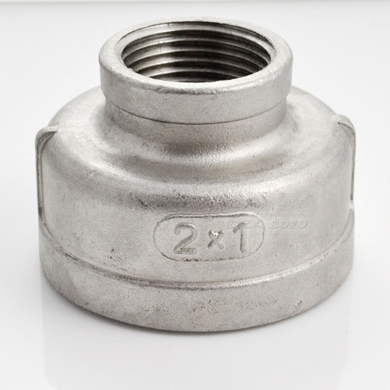 Nipple quot female stainless steel threaded reducer