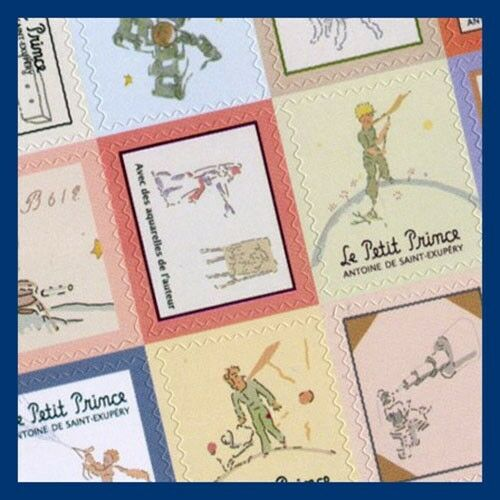 Le petit prince little prince mini stamp shape sticker set 4 sheets ebay - Sticker le petit journal ...