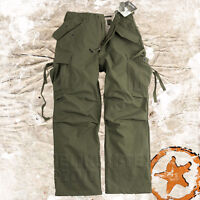 HELIKON GENUINE US M65 ARMY MILITARY COMBAT CARGO PANTS MENS TROUSERS NyCo OLIVE