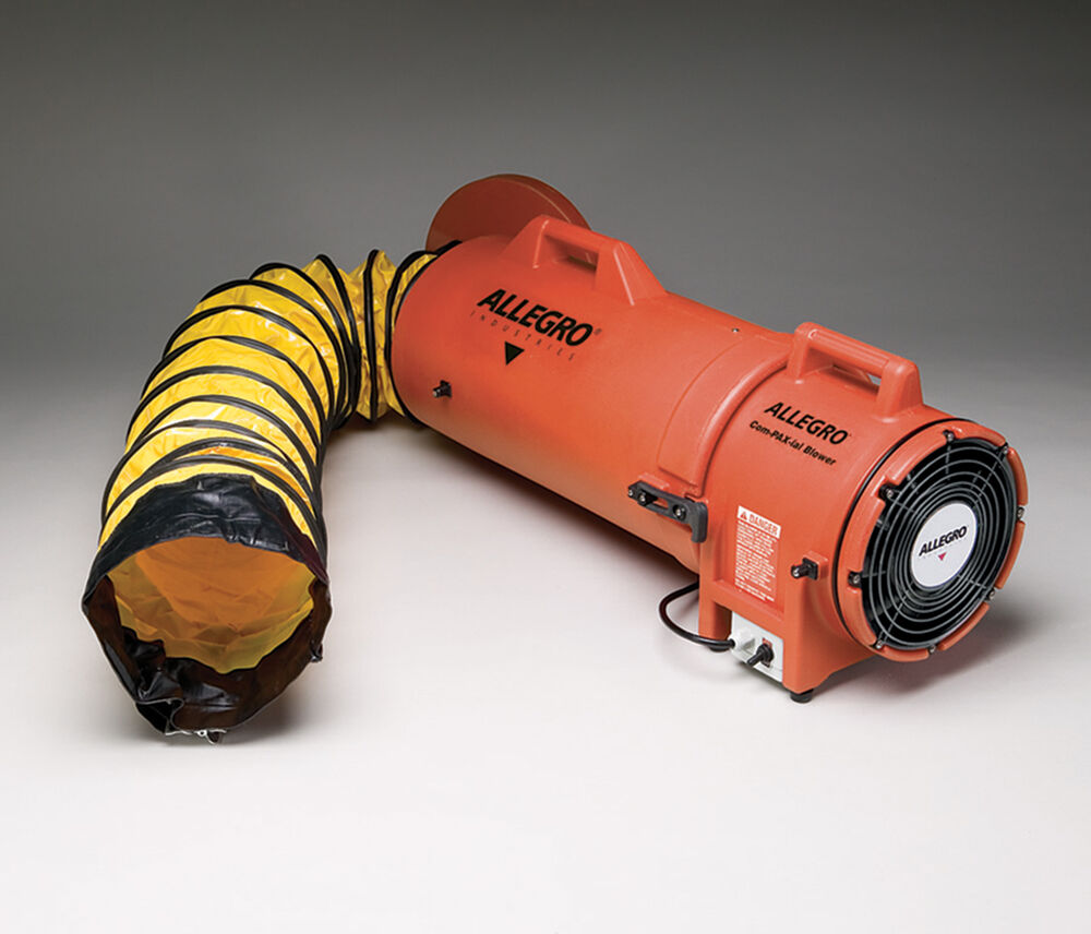 Confined Space Blowers And Fans : Allegro blower confined space quot ac plastic