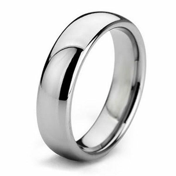 mens wedding engagement ring band stainless steel sizes 7 14 including