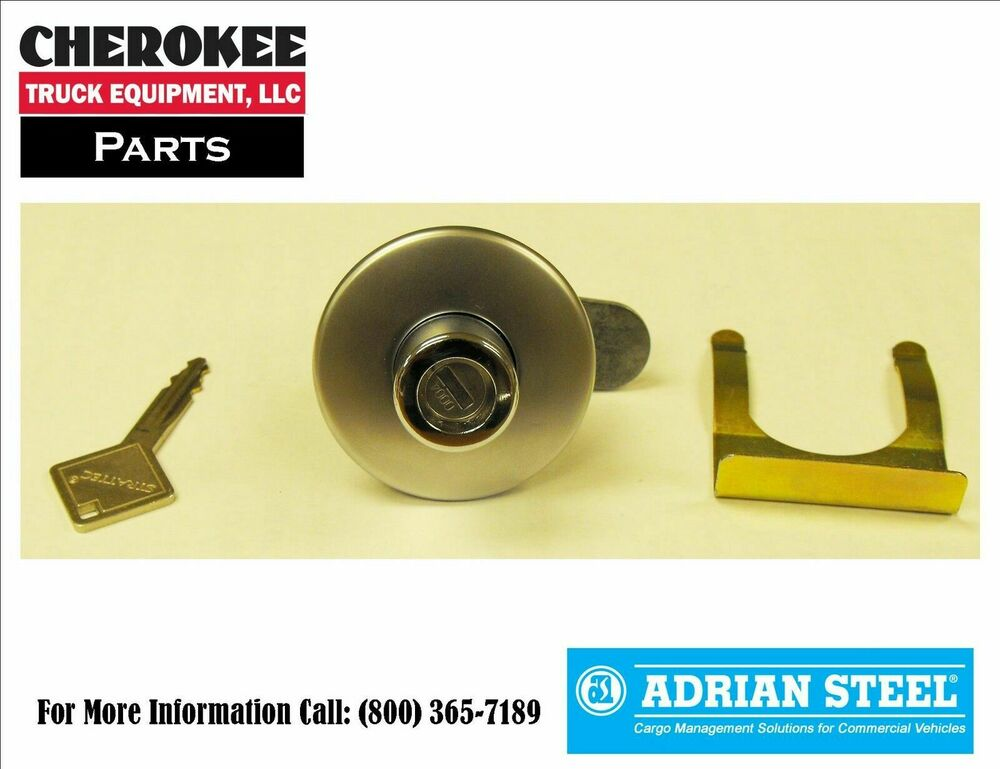 Adrian Steel 28333 0 Push Button Lock Cylinder Assembly