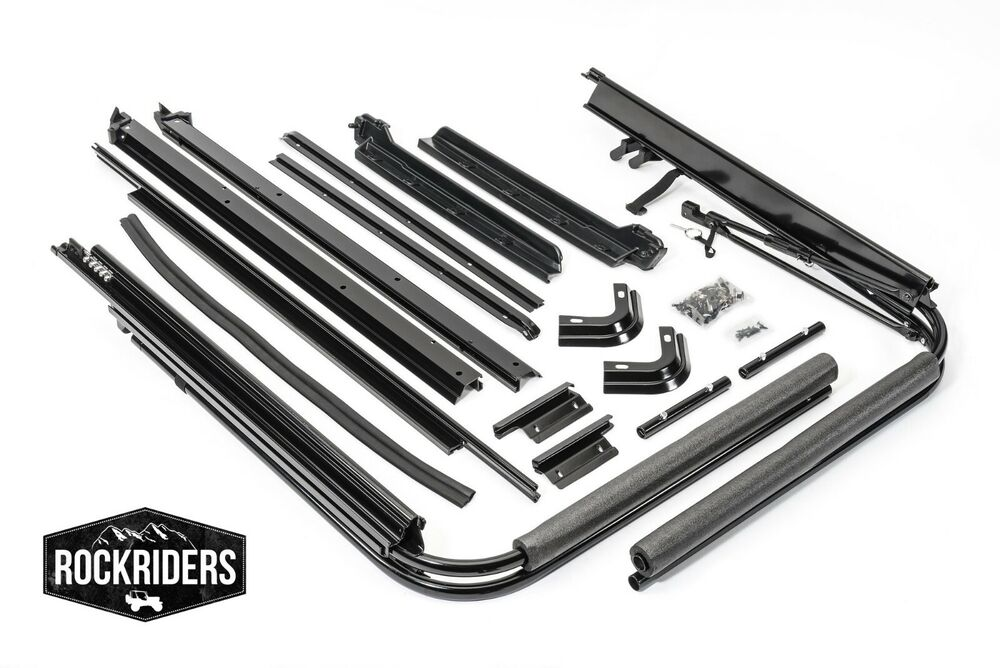 Jeep Yj Soft Top Replacement Bow Kit 88 95 Jeep Wrangler: 1988-1995 Jeep Wrangler Soft Top Main Frame & Mounting