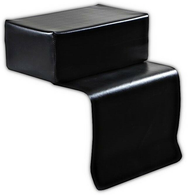 Child s beauty salon styling chair booster seat black kids equipment