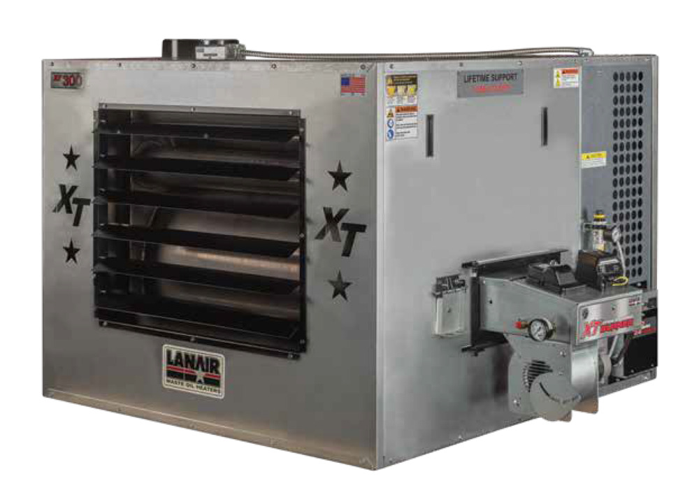 waste oil heater furnace lanair mx250 heater only free
