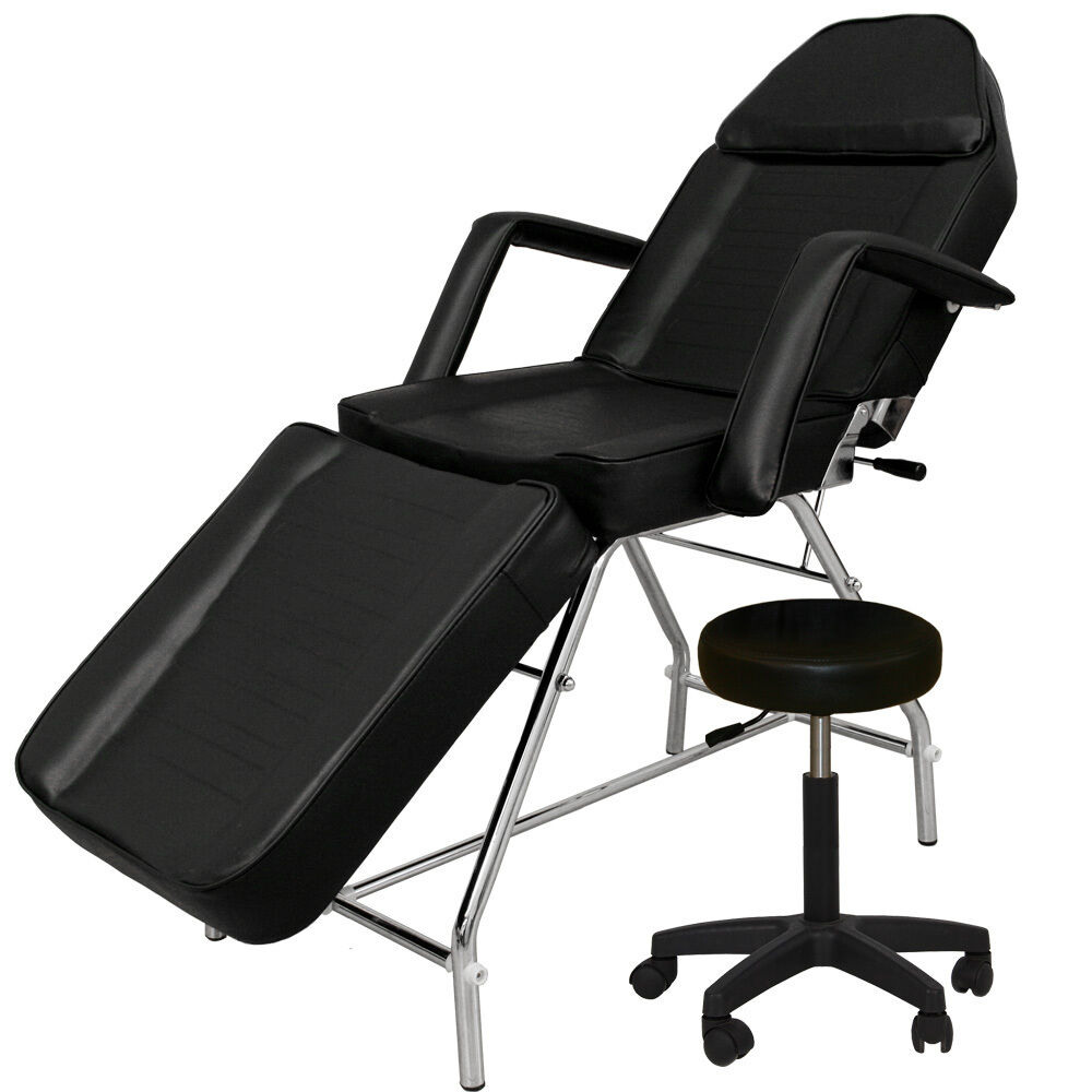 White salon chairs - Beauty Salon Spa Massage Equipment Facial Tattoo Bed Chair