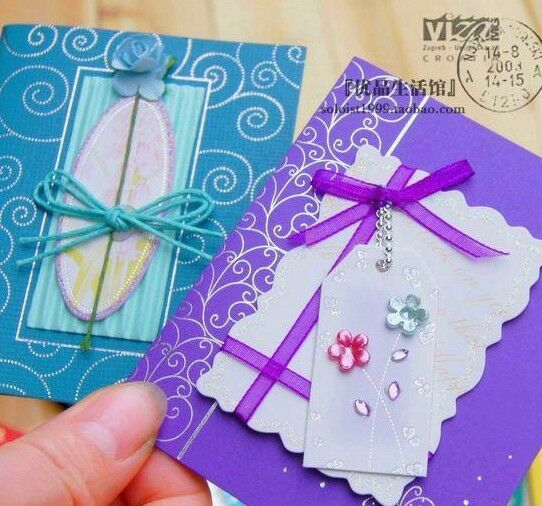 10x 3d high quality handmade hand craft birthday greeting for Image craft greeting cards