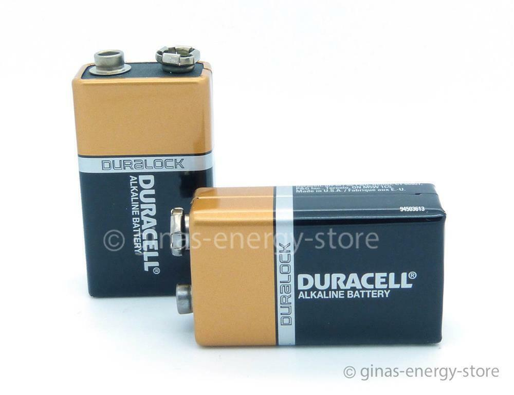 7 duracell plus oem 9v block 6lr61 9 v blockbatterie 9volt auch f r rauchmelder ebay. Black Bedroom Furniture Sets. Home Design Ideas