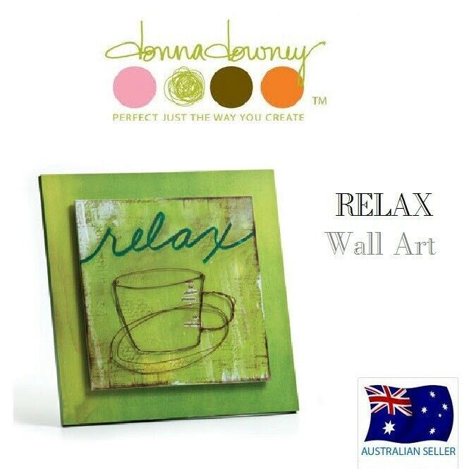 Donna Downey Collection Relax Wall Art Demdaco New Ebay