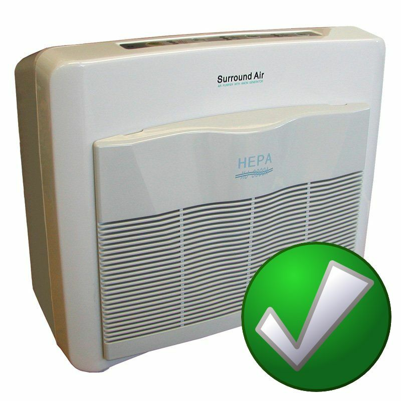 Xj 3000 c surround air multi tech hepa air purifier room for Bedroom air purifier