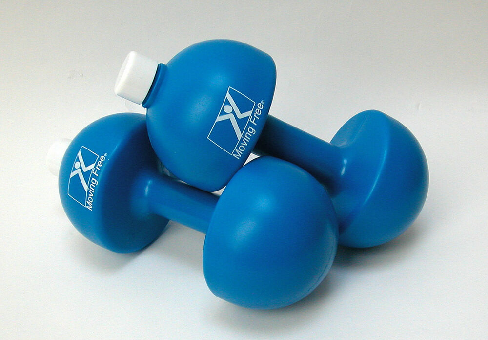 Hand Weights, Plastic, Water Fillable, up to 3 pounds each ...
