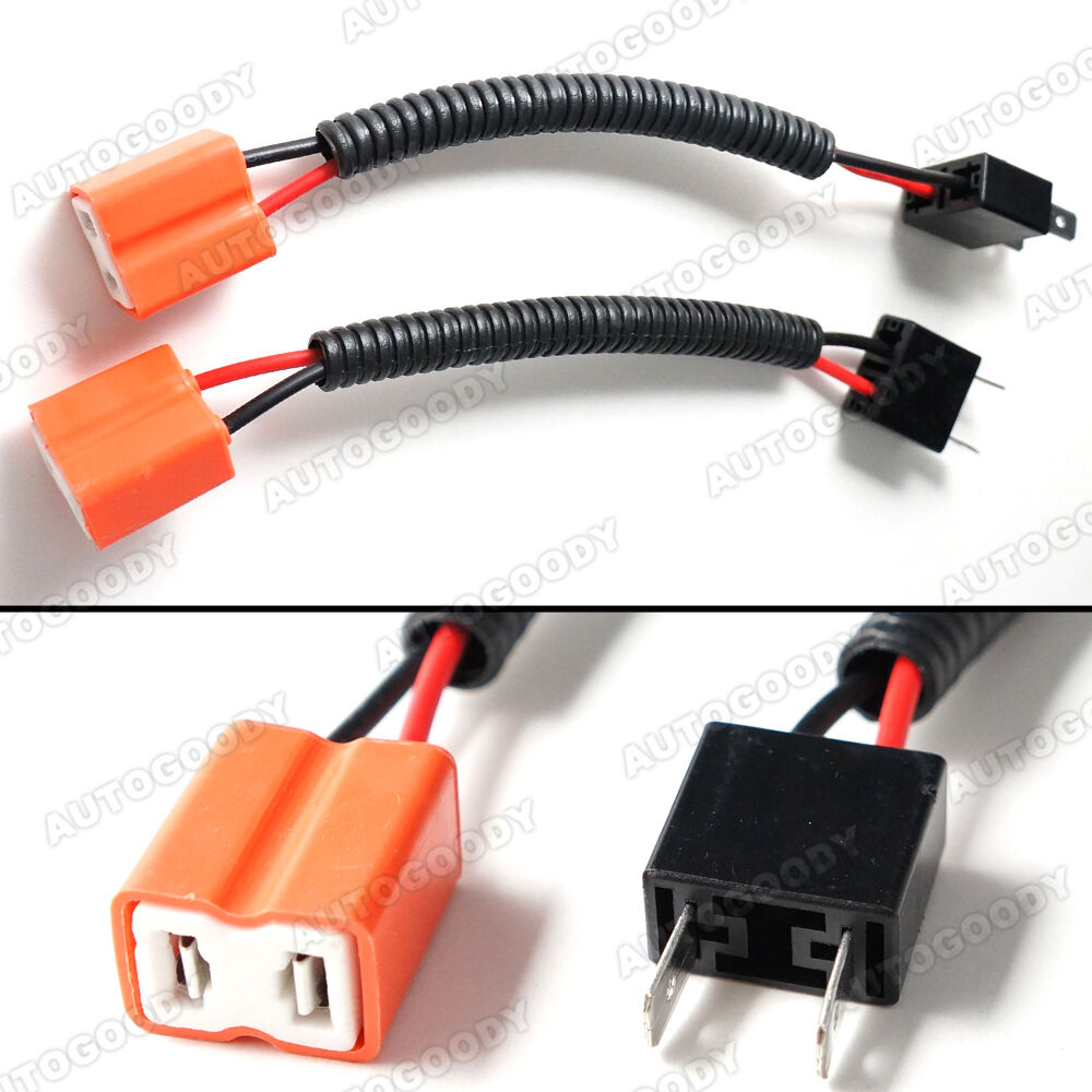 h7 wiring harness socket wire connector plug ebay Automotive Electrical Harness Connectors Car Wiring Harness Connectors