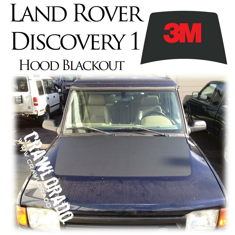 Landrover Discovery Side Stripe Decals Stickers Land Rover: Land Rover Discovery 1 Hood Blackout Decal Sticker Disco