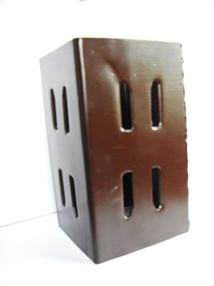 4 Quot 100 X 100 Mm Fence Post Extender Support Holdfast Ebay