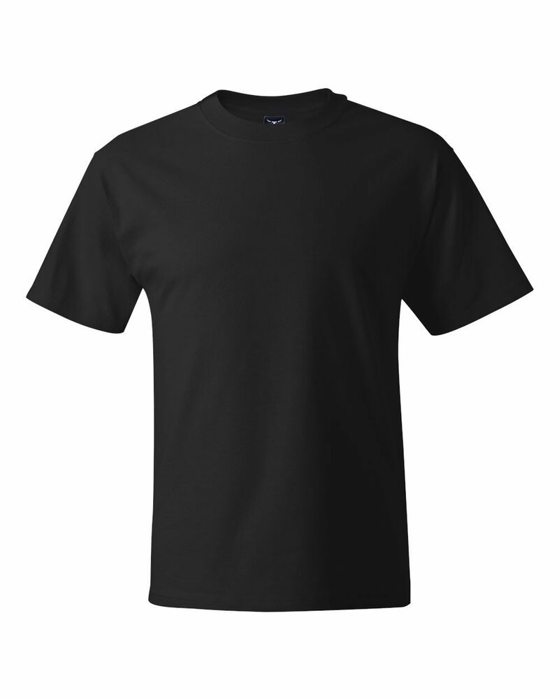 6 pack hanes beefy t shirts black 5180 s 6xl wholesale for Hanes 5180 beefy t t shirt