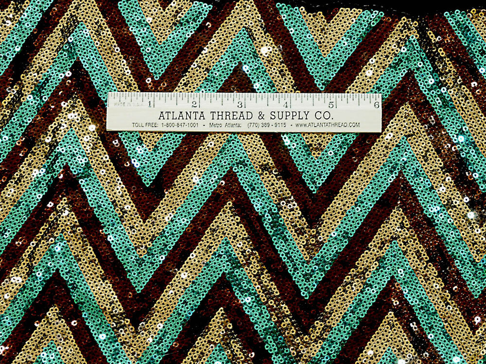 Sequin stretch sewn on fabric gold turquoise bronze bty for Sequin fabric