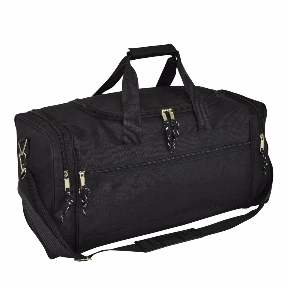 Gym Bag Jalandhar: Brand New Duffle Bag Duffel Bag Large In Black Gym Bag