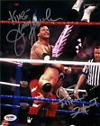 Bret Hart & King Jerry Lawler Signed WWE 8x10 Photo PSA/DNA COA Auto WWF Hitman