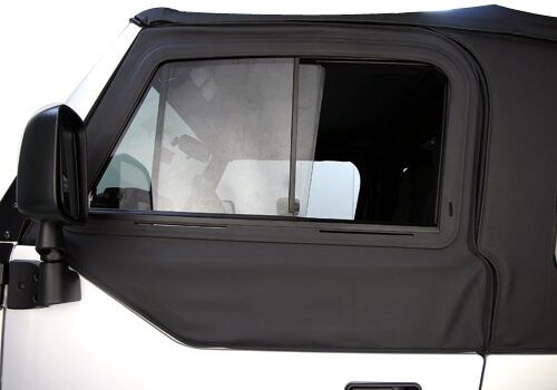 1997 2006 Jeep Wrangler Front Upper Doors With Sliding
