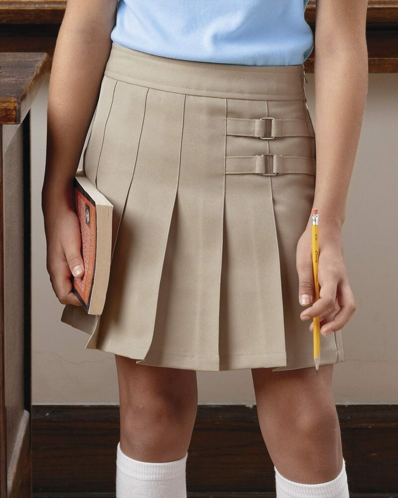 French Toast Girls Pleated Scooter Skort Skirt X9103 ...