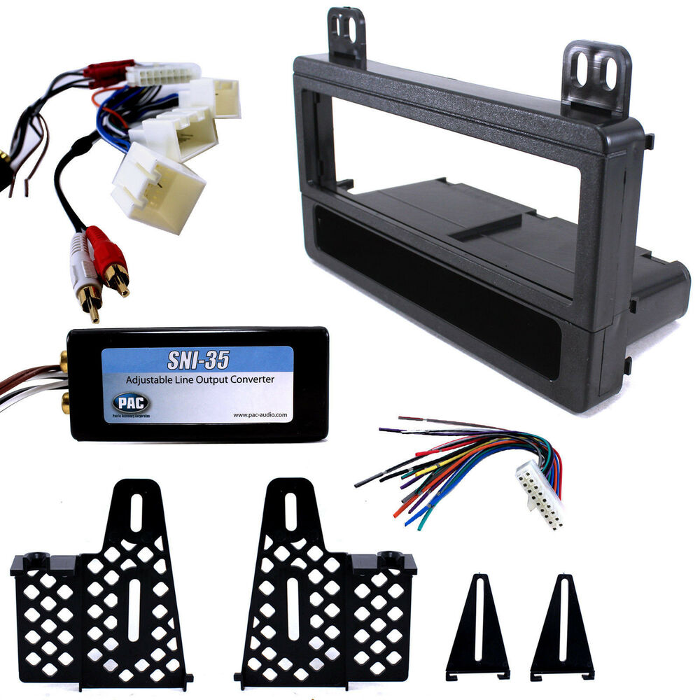 Mach jbl radio replacement interface dash mount kit for ford lincoln mercury ebay