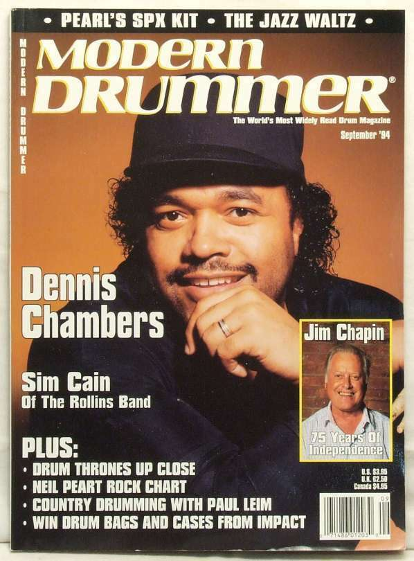Modern Drummer Magazine The Complete Max Roach June 1982