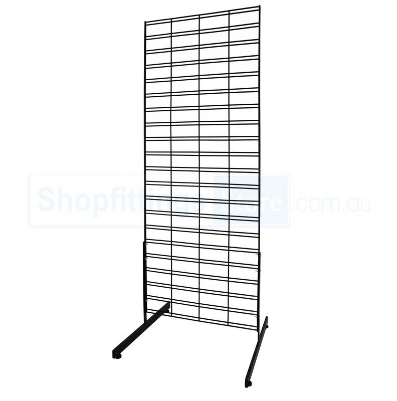 Grid Coat Rack In Office Accessories: Wire Grid Mesh Display Stand, Metal