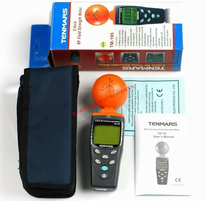 Field Strength Meter Kit : Axis rf field strength meter ghz emf electrosmog