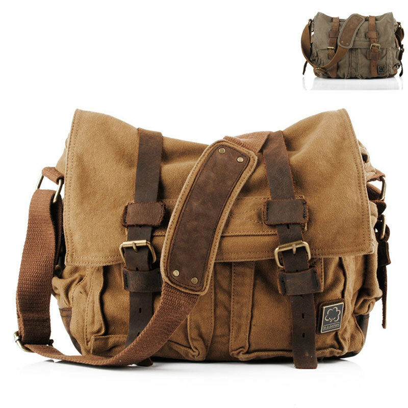 Beautiful Mens Shoulder Bags Messenger Bags For Women School Bag DICKFIST 9046