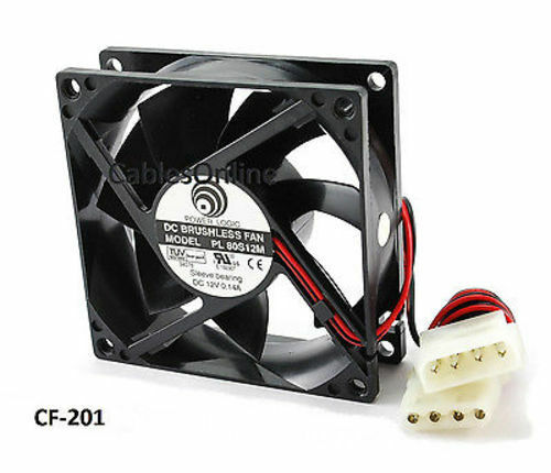 how to connect case fans to power supply