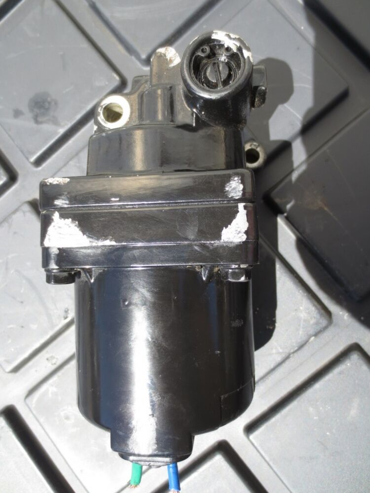 2007 evinrude 115 etec tilt and trim pump motor cracked for Tilt trim motor not working