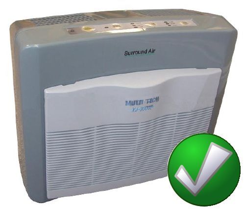 Room Air Purifier,Cleaner Filters HEPA,Ionic-5Modes for Smoke ...