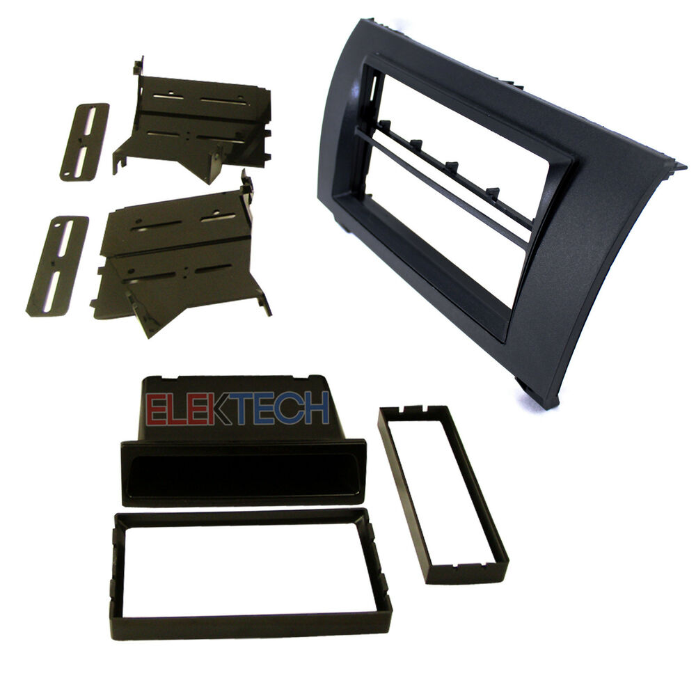 car radio replacement dash install mounting kit single din. Black Bedroom Furniture Sets. Home Design Ideas