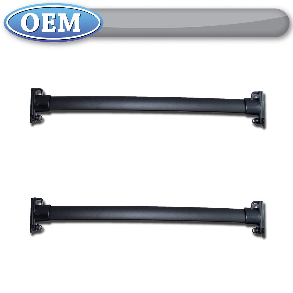 Oem New 2007 2013 Ford Edge Roof Rack Cross Bars Kit Pair