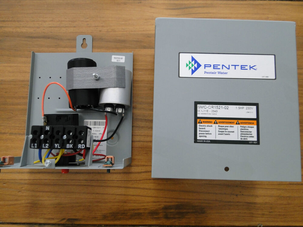 1 5 hp pentek goulds franklin water well pump control box On pentek submersible motor control