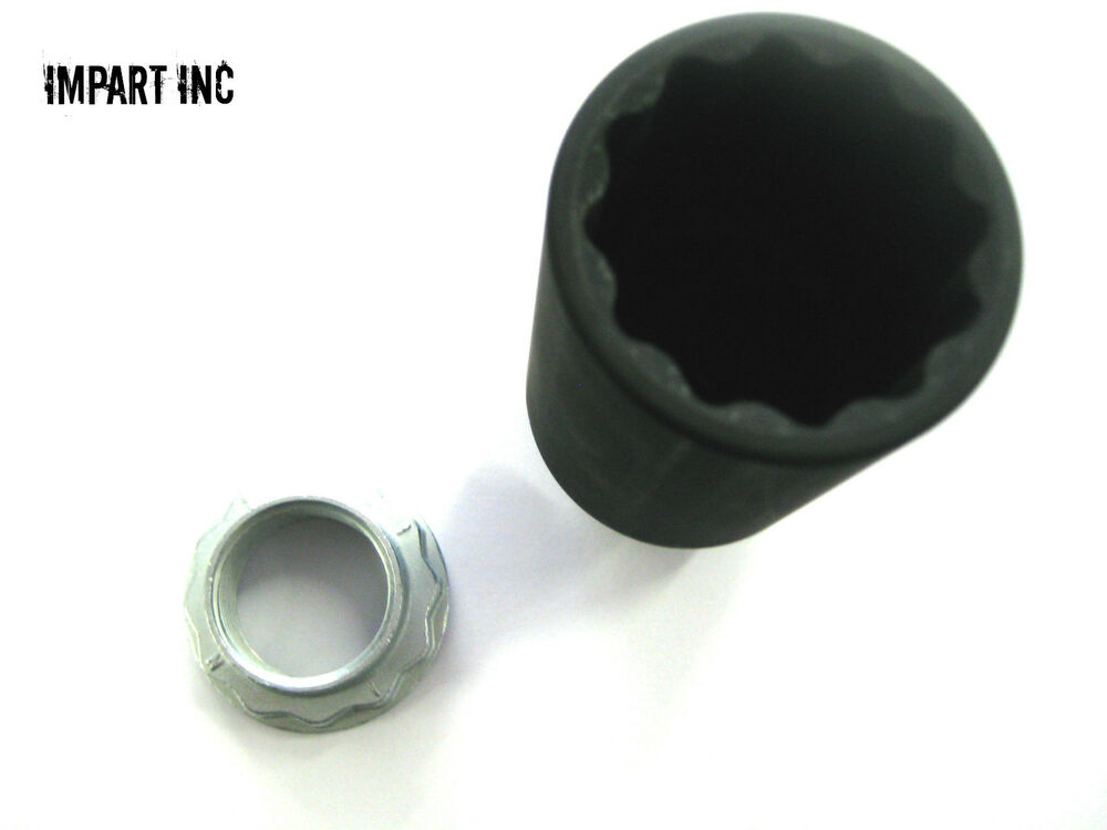 Bmw Axle Nut Front And Rear With Axle Tool 33 41 1 133 785