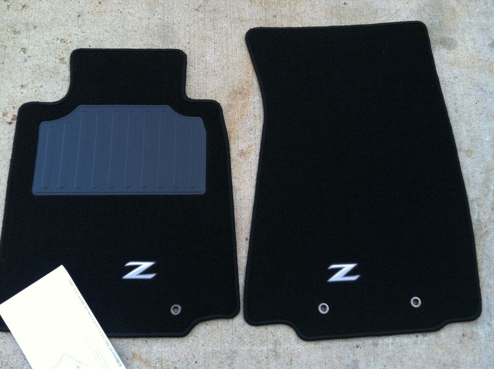 New Oem Nissan Carpet Floor Mats 370z 2009 2012 2 Piece