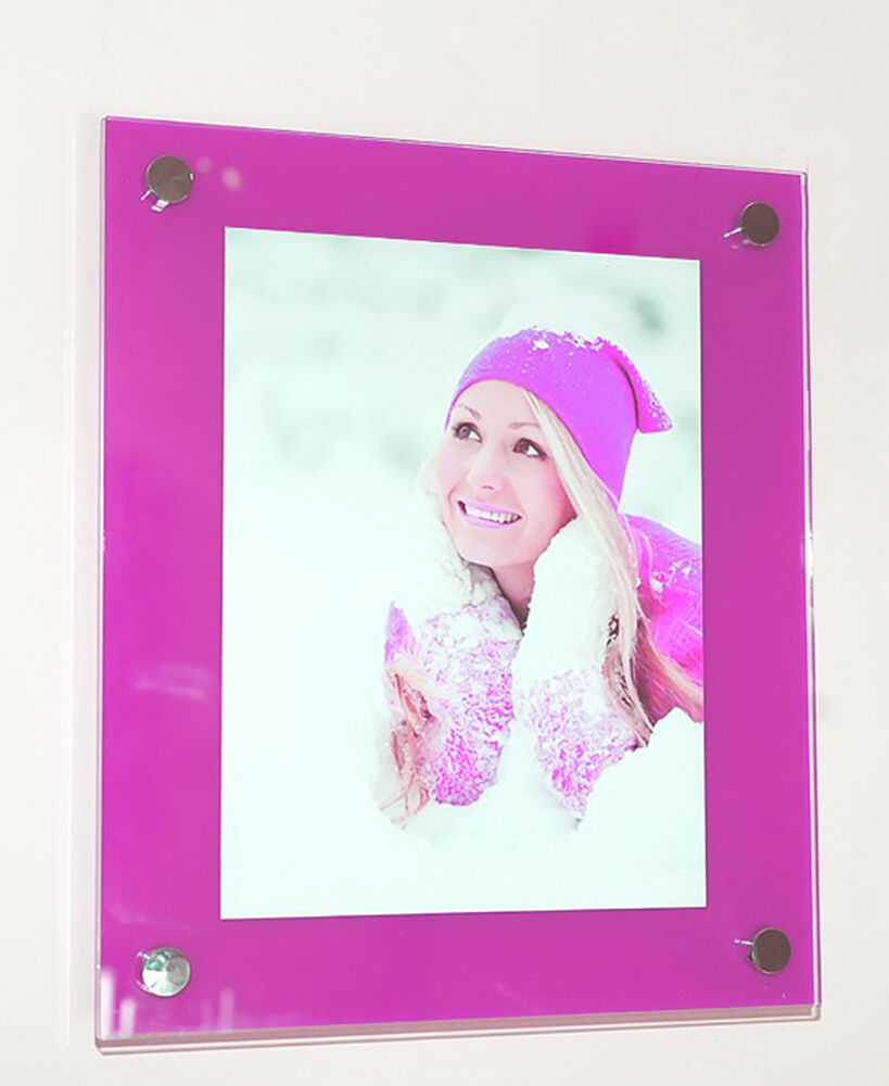 cheshire acrylic wall 14x16 picture photo frame for a 10x12 25x30cm pixi ebay. Black Bedroom Furniture Sets. Home Design Ideas