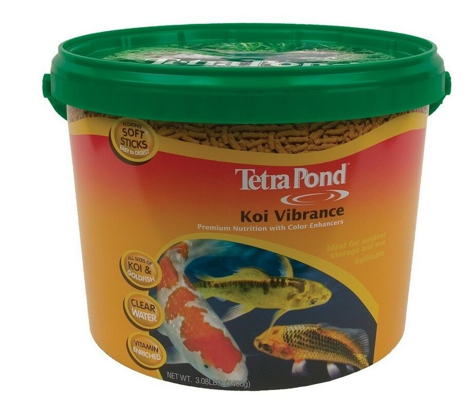 Tetra pond koi vibrance floating pond sticks lbs for Koi pond sticks