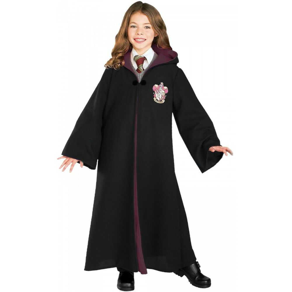 harry potter costumes kids gryffindor robe halloween fancy. Black Bedroom Furniture Sets. Home Design Ideas