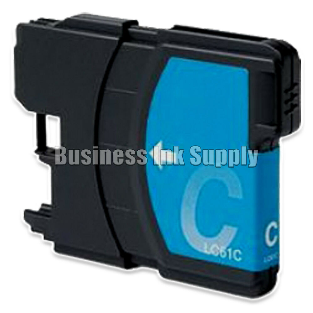 1 CYAN New LC61 Ink Cartridge For Brother MFC 495CW MFC